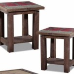 Wildwoods Reclaimed Circle Sawn Pine Premium End Table With 1 Open Bottom Shelf Conlin S Furniture End Table