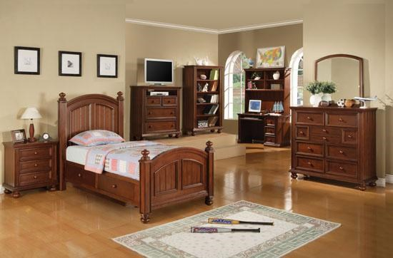 cape cod youth tall dresser and mirror combo