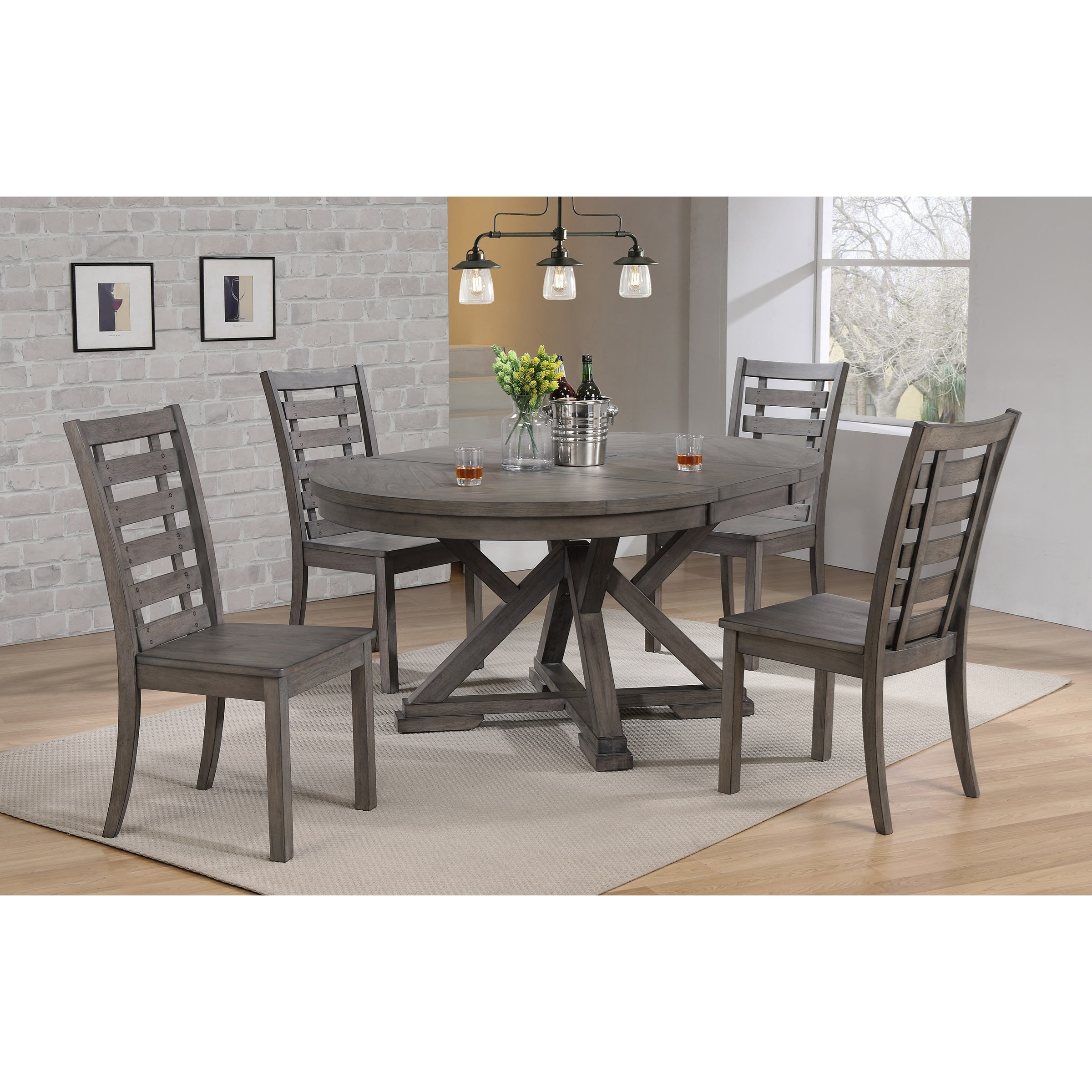 Winners Only Stratford Transitional 5 Piece Dining Set Sheely S Furniture Appliance Dining 5 Piece Sets