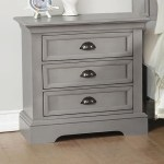 Winners Only Tamarack 3 Drawer Nightstand Mueller