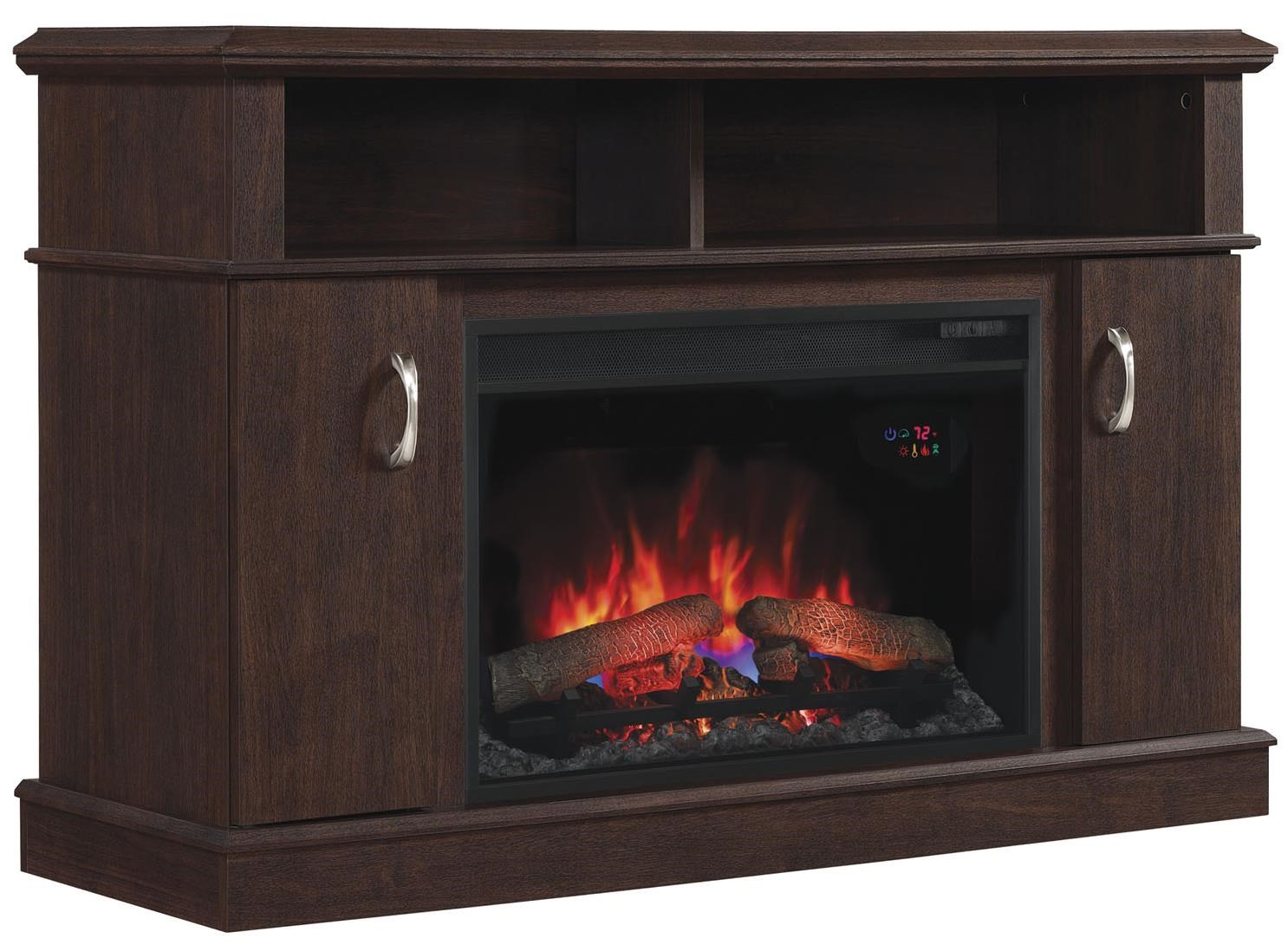 ClassicFlame Dwell 26 Media Fireplace Mantel Wayside Furniture TV Stands