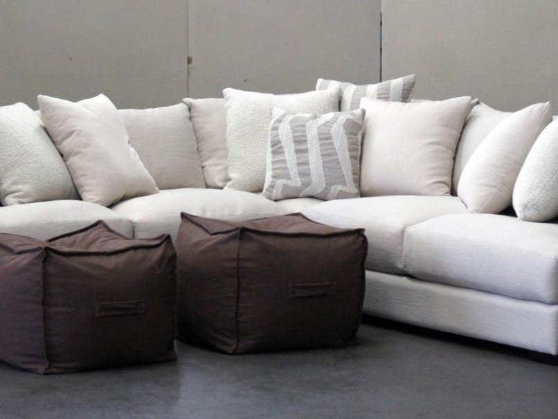 Jonathan louis sectional sofas for Jordan linen modern living room sofa