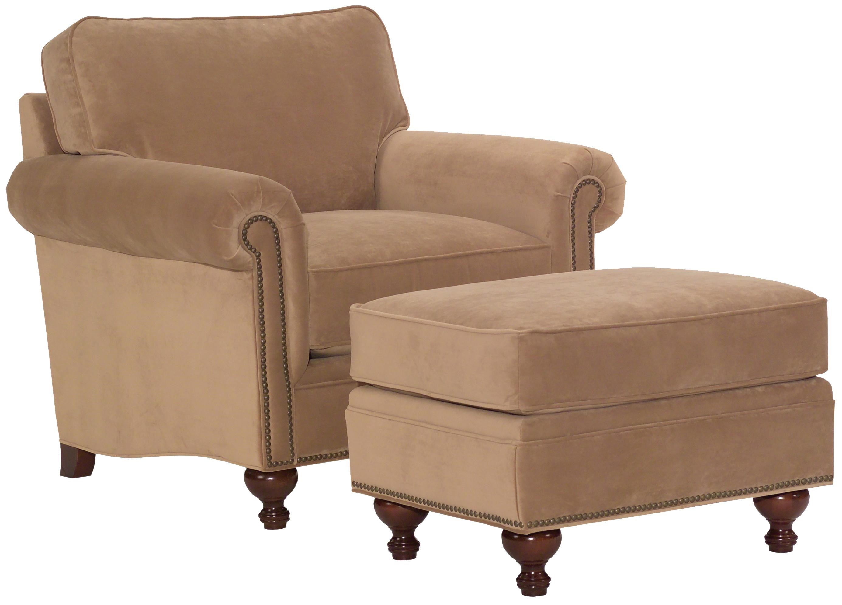 broyhill furniture harrison traditional style chair and ottoman lafayette abbeville franklin louisiana