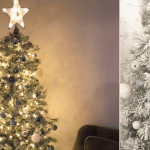 Christmas Tree Hack How To Diy The Sold Out Target Snowy Aspen Tree For 10