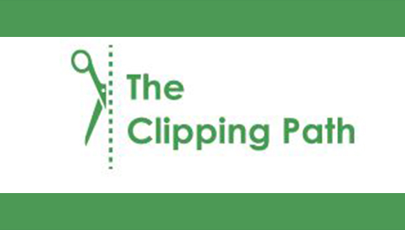 the clipping path