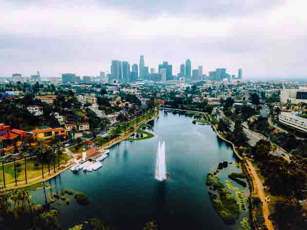 Echo Park Is One Of The Great Places For Photography In Los Angeles