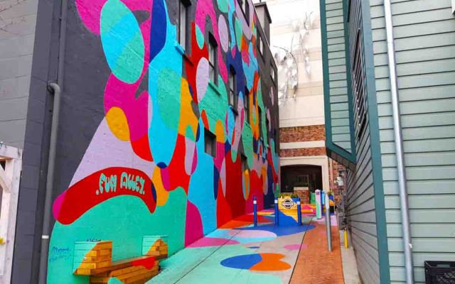 Fun Alley is 02 place in your list of top vancouver photography spots