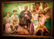 Saint Francis / oil on canvas
