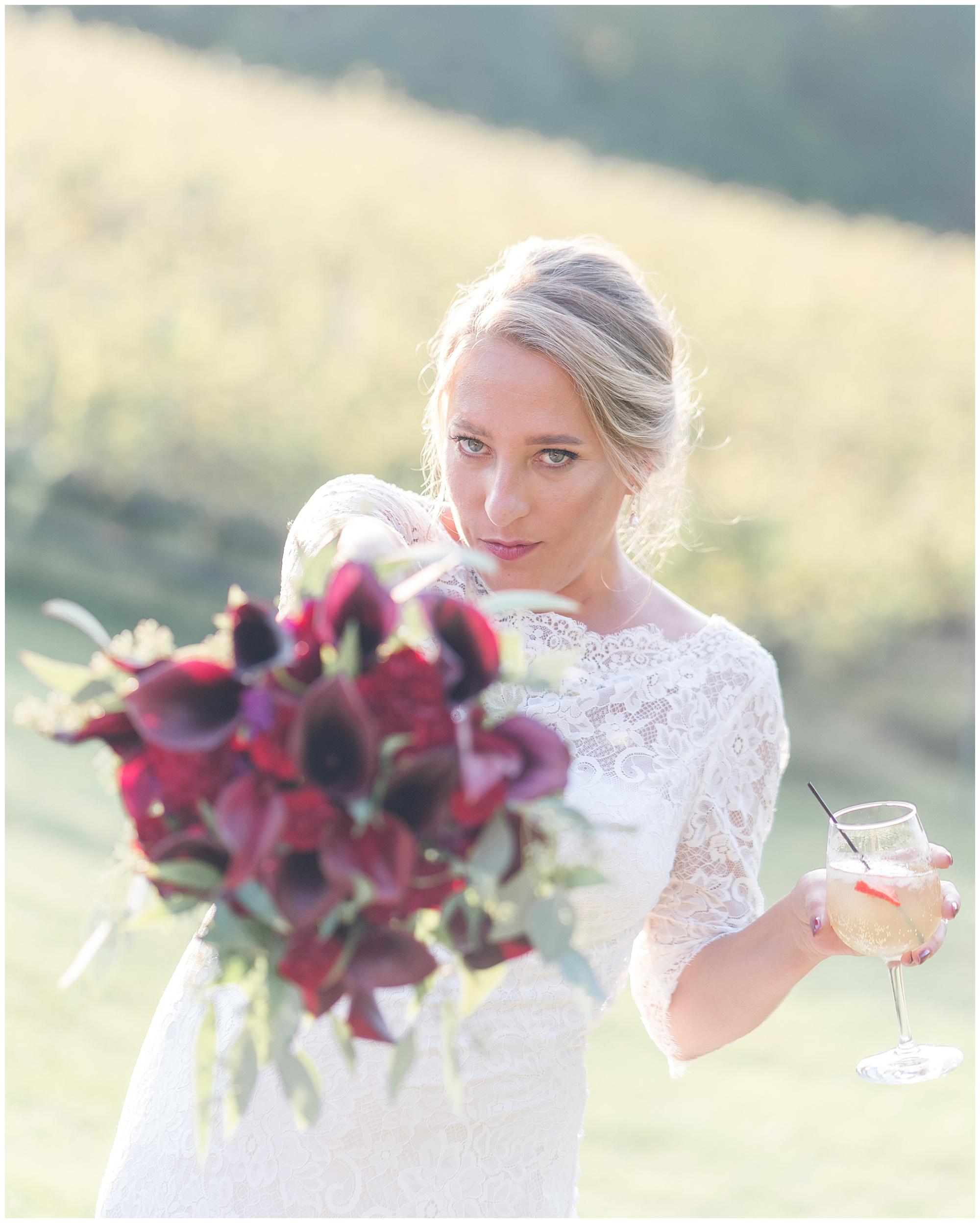 Potomac Point Winery wedding photos