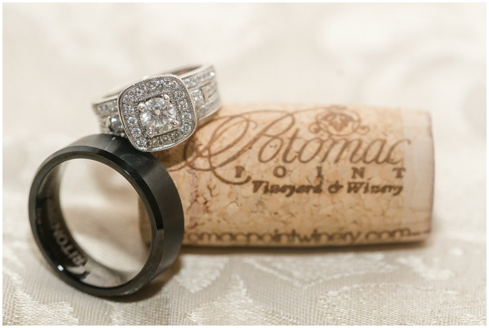 Potomac Point Winery wedding photography