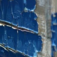 Peeling Blue