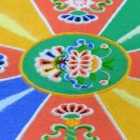 Sand Mandala Detail