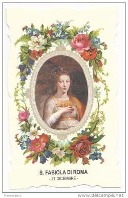 sveta Fabiola - vdova