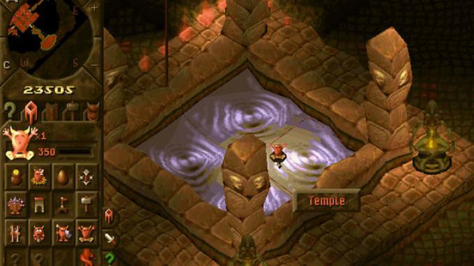 Dungeon Keeper Gold screenshot 3
