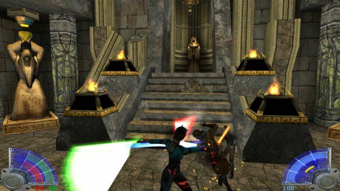 Star Wars: Jedi Knight - Jedi Academy screenshot 1
