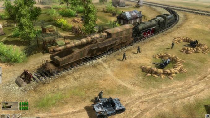 Men of War: Red Tide screenshot 1