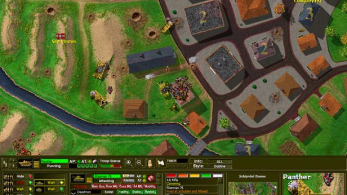 Close Combat 2: A Bridge Too Far screenshot 3