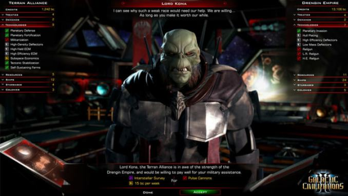 Galactic Civilizations III + 5 DLC screenshot 2