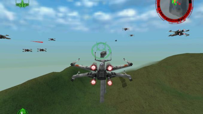 STAR WARS: Rogue Squadron 3D screenshot 2