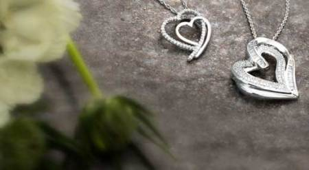Necklaces   Zales Heart Necklaces   Make a meaningful statement of love