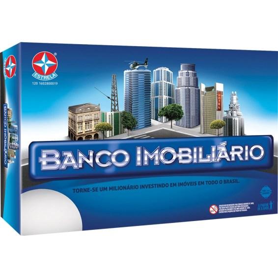 jogo de tabuleiro banco imobiliário