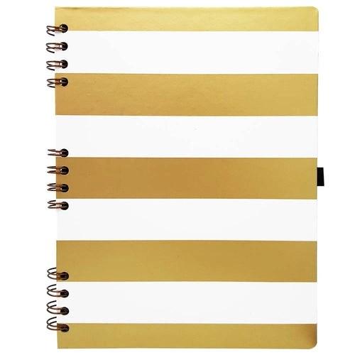 Foto 1 - Caderno Gold E Kraft 177 Branco Ótima