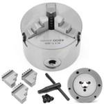 3 ' ' Kull K11-80 Mandril de mandíbula 3 80 mm Manual autocentrante para metalurgia cnc