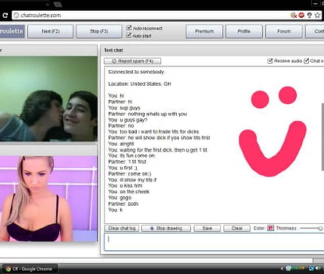 Got Kids To Go Gay For Fake Chat Roulette Cam Girl