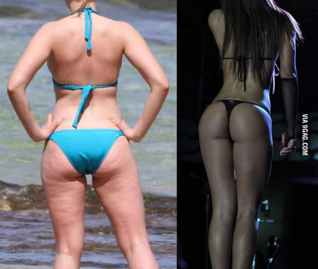 Scarlett Johanssons Booty Or The Other Unknown Hot Girlacute