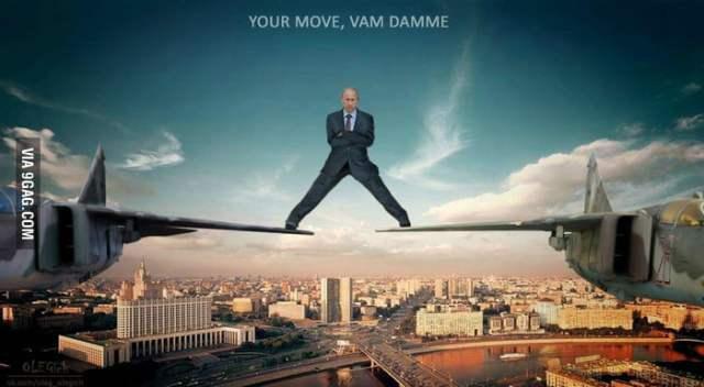 Your move van damme - 9GAG