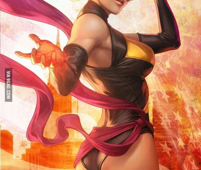 Is It Me Or Is Ms Marvel Carol Danvers The Sexiest Marvel