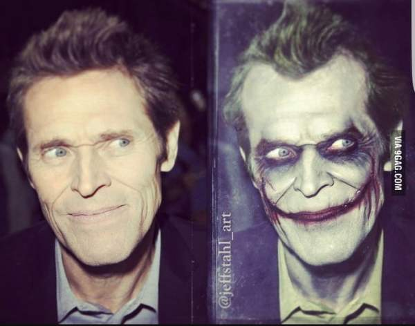 Willem Dafoe would be perfect as aging Joker in a live ...