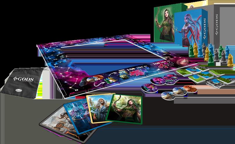 Image result for 4 gods board game