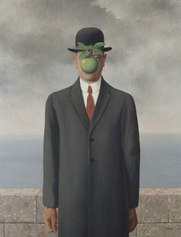 The Son of Man, 1964 (oil on canvas)