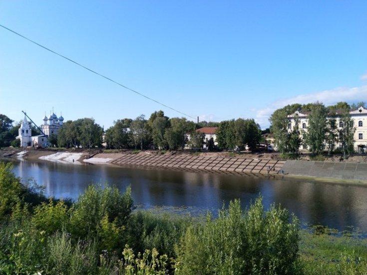 Жители Вологды выйдут на митинг против бетонирования набережной