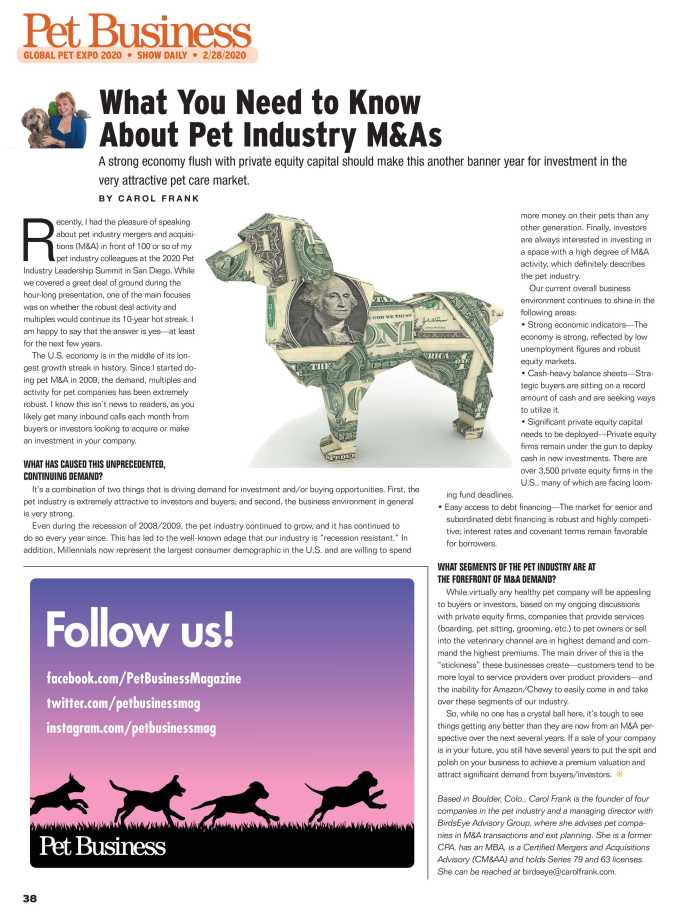 Pet Business - Global Pet Expo Show Daily Day 3 2020 - page 38
