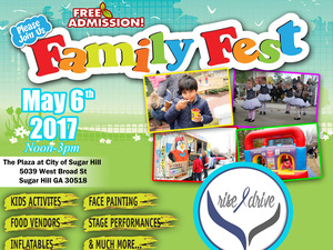 3rd Annual Rise and Drive Family Festival