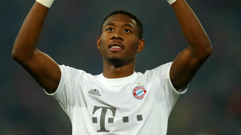 David Alaba Bayern Munich 2019-20