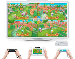 playstyle8. V176329500  Console Nintendo Wii U 32 Go noire   Nintendo Land premium pack