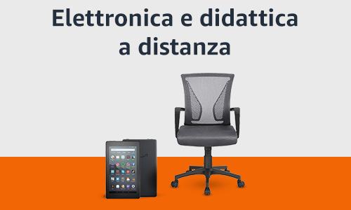 Sconti Elettronica e didattica a distanza Amazon