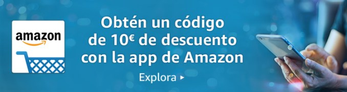 10€ de descuento con la app de Amazon