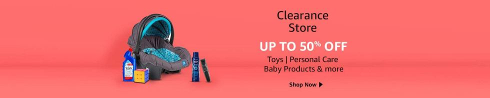 Clearance store  Offer and Discount In Amazon