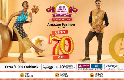 Amazon fashion upto 70% off