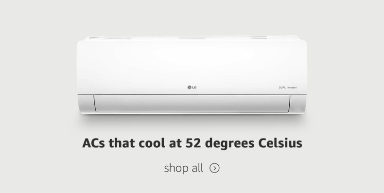 ACs that cool at higher temperature