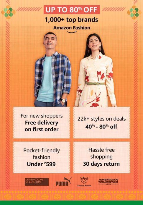 Amazon Fashion, Amazon next Great Indian sale on Republic Day