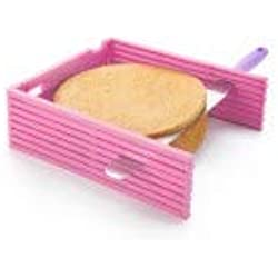 IBILI Layer Cake Slicing Kit, Rosa