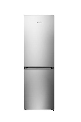 Hisense RB400N4EG3 Libera installazione 308L A+++ Acciaio inossidabile frigorifero con congelatore
