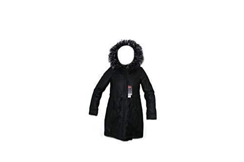 Penn-Rich Woolrich Giacca Nera F-Sadie Eskimo S