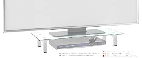 RICOO Supporto da tavolo per TV Montaggio FS6028-W Staffa per televisore base piatto piedistallo...
