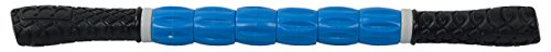 IRIS Fitness Muscle Roller Stick for Athletes - Exercise Roller Massager Body Self Massage Tool for Trigger Point Release and Muscle Soreness due to Running, Track, Soccer, Yoga (Black and Blue)